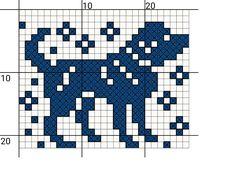 Bilderesultat for luemønster Fair Isle Knitting Patterns, Fair Isle Pattern, Knitting Charts, Fair Isle Chart, Filet Crochet, Crochet Chart, Crochet Patterns, Bead Patterns, Crochet Stitches