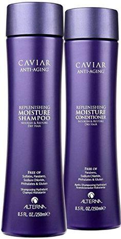 My favorite shampoo brand: Alterna Caviar Replenishing Moisture Shampoo & Conditioner Duo (8.5 oz each) Alterna Haircare http://www.amazon.com/dp/B001FYV0HM/ref=cm_sw_r_pi_dp_YYXzwb0Y1VFEF