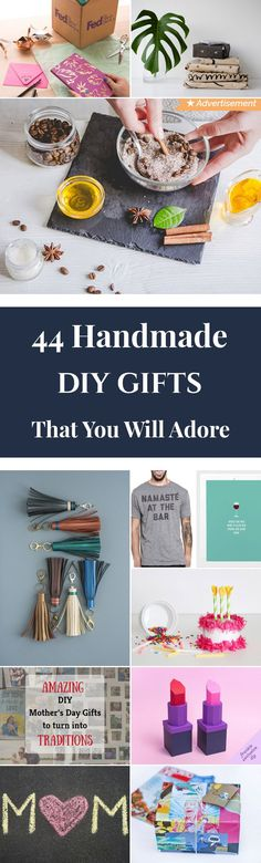 44 Handmade DIY Gifts That You Will Adore Diy Gifts Cheap, Diy Gifts For Men, Diy Gifts For Friends, Gifts For Coworkers, Gifts For Teens, Cheap Gifts For Boyfriend, Diy Gifts For Girlfriend, Cheer Gifts, Quirky Gifts
