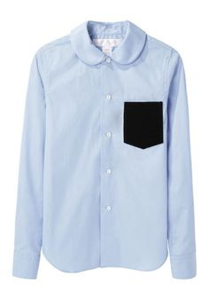 Comme des Garçons Shirt | Velvet+Pocket+Shirt | La Garçonne