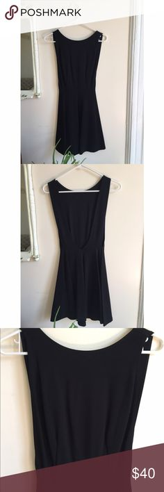 NWOT American apparel black dress Never worn LBD from American apparel. Open back and low cut arm opening. Tried to show in photo. Any questions, please ask! 🖤🖤🖤 American Apparel Dresses Mini