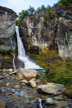 Chorillo del Salto waterfalls, Argentina #Patagonia