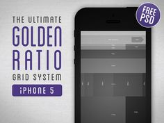 Download Golden Ratio Grid System for iPhone 5