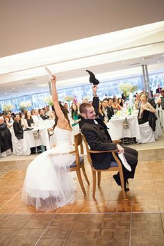 Happily ever after: the fairytale #wedding of Danielle & Anthony. #theshoegame