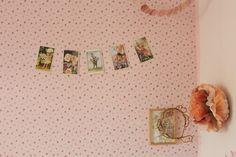 GINGERLILLYTEA: Flower fairies postcard garland