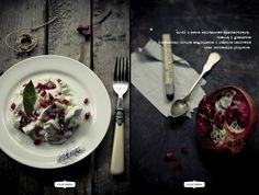 {Herring with Pomegranate} | Krew i mleko - kuchnia i fotografia