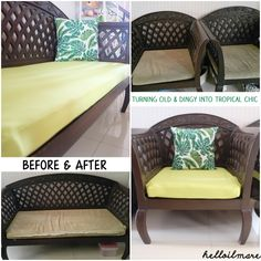 reupholstery, before & after, vintage chair
