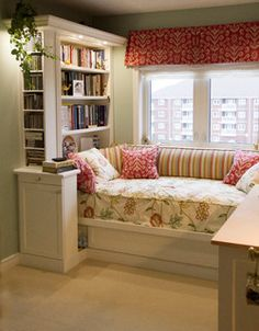Custom Day Bed Built-in - traditional - bedroom - other metro - by Millard Bautista Designs