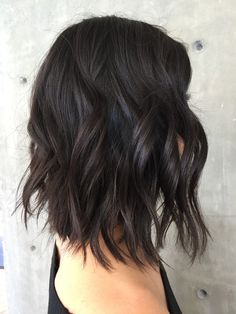 42 suggestions for dark brown hair color hair hair color 201 Black Hair With Highlights, Hair Highlights, Color Highlights, Violet Highlights, Balayage Hair Dark Black, Hair Color For Black Hair, Brown Hair Colors, Hair Colour, Ombre Color