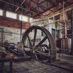 Love old industry #factorylove #factory #machinery
