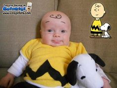 Charlie-Brown-itized! TRIPP'S HALLOWEEN COSTUME!!! @Hannah Lane @Kelly Epps Lane