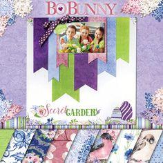BoBunny Secret Garden collection