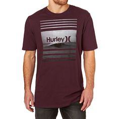 Hurley Sustenance T-shirt - Night Maroon d29baf191ef