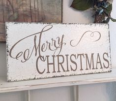MERRY CHRISTMAS | Merry Christmas Signs | 9 x 18 by thebackporchshoppe on Etsy https://www.etsy.com/listing/245051881/merry-christmas-merry-christmas-signs-9