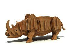 The Rare Rhinoceros - Wild | MakeCNC.com