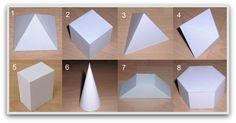 Moldes de Caixinhas em Formas Geométricas! | Fazendo a Minha Festa