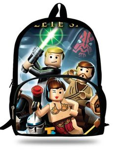 16-Inch Popular School Bag Cartoon Backpacks Child Star Wars Backpack For Kids  Boys Star Wars Bag For Girls Teenagers Bags 37985ef48232d