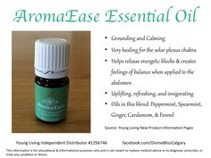 The new AromaEase essential oil from Young Living!