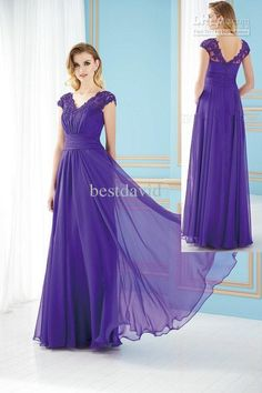 New Grape Lace Cap Sleeve Mother Party Dresses 2013 Chiffon V Neck Empire Floor Length Cheap J155070 Mother Of The Bride Long Dresses Mother Of The Bride Short Dresses From Bestdavid, $100.51| Dhgate.Com