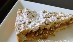 Greek Desserts, Greek Recipes, Apple Pie, Bakery, Dessert Recipes, Cooking Recipes, Sweets, Food, Drinks