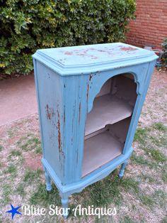 Blue Star Antiques: Radio Revamp, MMS Milk Paint Kitchen Scale