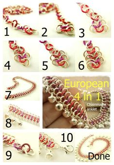 Make some noise!! Ankle Bells!! DIY European 4 in chain maille kits!