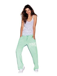 Love these easy breezy sweats from #VSPINK's summer must-haves! #MadeForSummer