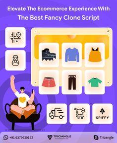 #businessideas #clonescript #trioangle #entrepreneurships #spiffy #fancyclone #ecommercesoftware #fancyclonescript Ecommerce, Script, Fancy, Good Things, Business, Script Typeface, Scripts, Store, E Commerce