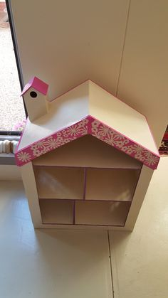 Top view of Large Wooden Doll's House
