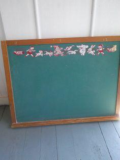 Mid Century ATF Toys Children's Chalkboard/ by JulesCristenVintage