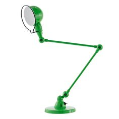 Signal table lamp by Jieldé is an iconic classic of French lighting design. Due to the robust metal structure and adjustable arm joints, Signal lamps are perfect for both home and office use. Task Lighting, Lighting Design, A Table, Table Lamp, Metal Structure, 2nd Floor, Lyon, Desk Lamp, Outdoor Power Equipment