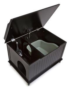 Hidden Catbox - Black