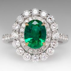 Emerald Gemstones Colombian Emerald Diamond Gold Ring Imperial Topaz Diamond Ring 20 Most Loved Cushion Cut Engagement Rings Emerald Gemstone, Emerald Jewelry, Emerald Diamond, Diamond Rings, Diamond Jewelry, Gemstone Rings, Emerald Rings, Gold Jewelry, Jewelry Rings
