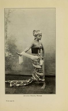 Javanese Dancer, ModernThe Dance; Its Place in Art &...