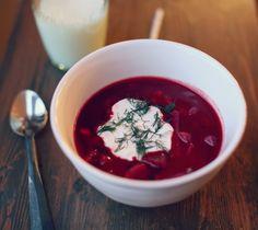 Fall Recipes- Bison Borscht