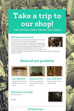 Take a trip to our shop!