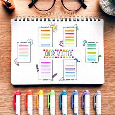 Comment your favorite color palette! I love the Cotton Candy ones These stunning… – Bullet Journal Bullet Journal School, Bullet Journal Notes, Bullet Journal Layout, Bullet Journal Inspiration, Mental Map, Pretty Notes, Lettering Styles, Fathers Day Crafts, School Notes