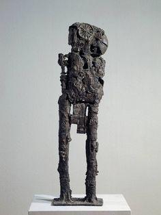Sir Eduardo Paolozzi 'Cyclops', 1957 © The Eduardo Paolozzi Foundation Robert Rauschenberg, Jasper Johns, Peter Blake, Roy Lichtenstein, David Hockney, Andy Warhol, Contemporary Sculpture, Contemporary Art, Bronze Sculpture