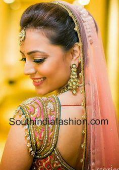 Nisha Aggarwal's Wedding Blouse
