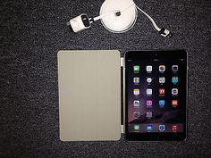 Apple iPad Air 16GB Wi-Fi  4G Cellular T-Mobile 9.7in Space Gray Bundle (MINT)