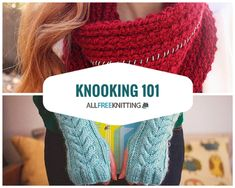 Knooking Knitting with Crochet Hooks Cable Knitting, Loom Knitting Patterns, Knitting Stitches, Crochet Patterns, Knitting Tutorials, Tunisian Crochet, Knit Crochet, Knooking Tutorial, Tapestry Crochet