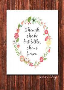though she be but little she is fierce 2