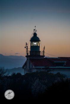 Faro del Real Sitio de La Magdalena, Santander, España