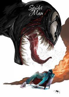 superheroes by Aykut Aydoğdu, via Behance
