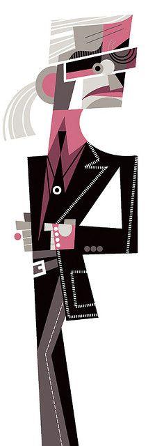Karl Lagerfeld by Pablo Lobato