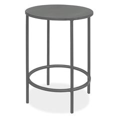 Room & Board - Slim 15 diam 18h Outdoor Round End Table