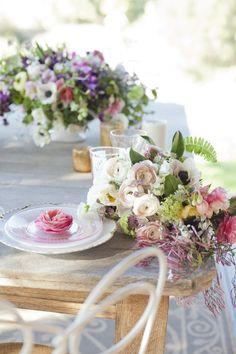 Read more - http://www.stylemepretty.com/2013/07/02/keys-creek-lavender-farms-photo-shoot-from-isari-flower-studio-event-design/