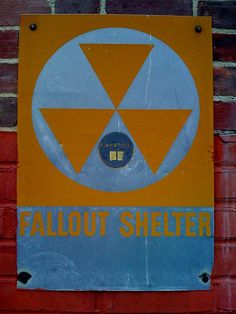 Fallout Shelter Sign....Wes would love this for his room!