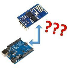Picture of The first usage of ESP8266 with Arduino Uno