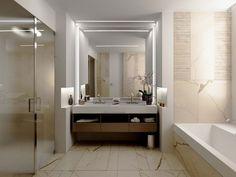 #Trump Towers Pune - Residential - Interior #Design #bathroom   MATTEO NUNZIATI and #Teuco